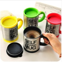 Self Stirring Mixing Coffee Cup Mugs Insulated Coffee Mug 400ml Electric Coffee Cup Smart Mugs Mixing Coffee Cup 4 Colors Option