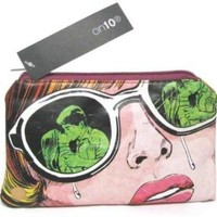On10 DC Comics Originals Lovers Cosmetic Bag/Case