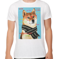 Doge Hipster Slim-Fit T-Shirt