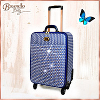 Galaxy Stars Clover Luxury Signature Travel Luggage