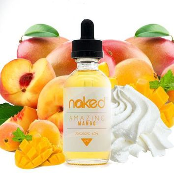Amazing Mango E Juice - Naked 100