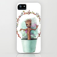 Baby Groot iPhone & iPod Case by Pendientera