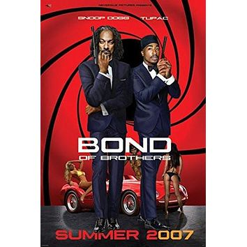 BOND of BROTHERS POSTER Snoop Dog & Tupac - 2Pac RARE HOT NEW 24x36