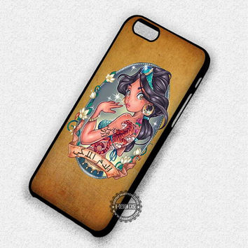 Tattoo Princess Aladin Disney - iPhone 7 6 5 SE Cases & Covers