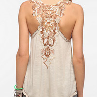 Staring at Stars Crochet Back Tank Top