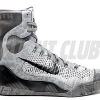 "kobe 9 elite ""details"" - dark base grey/black-mdnight fg - Nike 