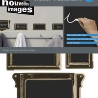 Home Stickers HOSE 077 Labels Decorative Water Resistant Chalkboard Wall Stickers