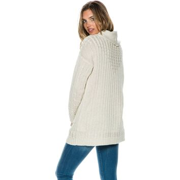 SOMEDAYS LOVIN' LIVELY CABLE TUNIC