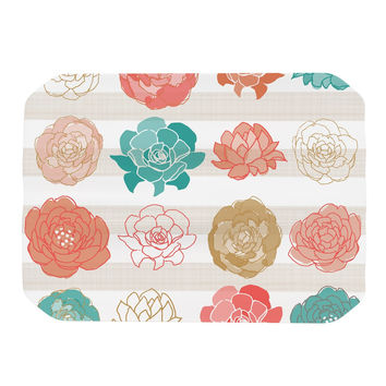 "Pellerina Design ""Flower Square"" Multicolor Floral Place Mat"