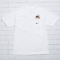 BAIT x Astroboy Men Mighty Pocket Tee (white)