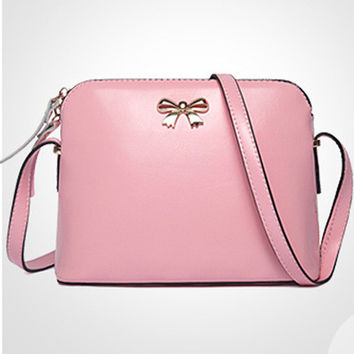 Summer Autumn Leather Korean Stylish One Shoulder Butterfly Bags [6582921095]