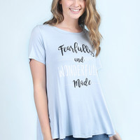 Altar'd State Wonderfully Made Tee
