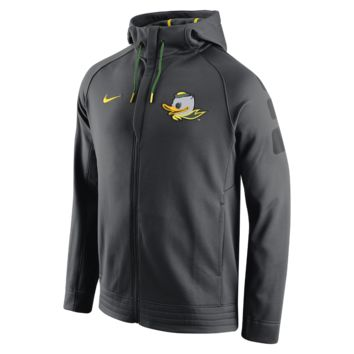 Nike Elite Stripe Full-Zip (Oregon) Men's Basketball Hoodie