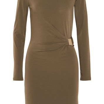 MICHAEL Michael Kors - Gathered stretch-jersey dress