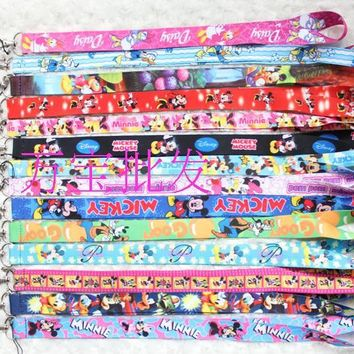 Cute Cartoon Neck Lanyards or MP3/4 cell phone DS lite