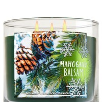 3-Wick Candle Mahogany Balsam