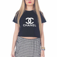 Chanel New For Womens Crop Shirt **