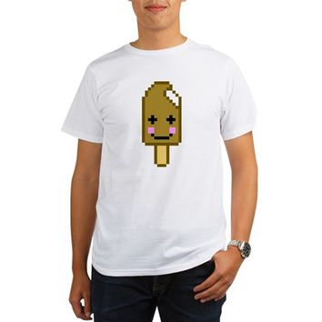 A Bit of Ice Cream Organic Men's T-Shirt