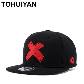 Trendy Winter Jacket TOHUIYAN Men Women Embroidery Snapback Cap Street Dance Hip Hop Hat Brand Flat Bill Bone Hats Adjustable Gorras Baseball Caps AT_92_12