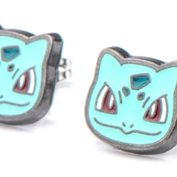 Pokémon Bulbasaur Stud Earrings