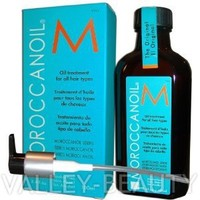 Moroccan Oil Hair Treatment 3.4 Oz Bottle with Blue Box for all hair types