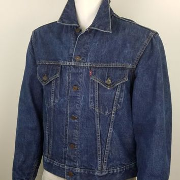 Levi's Big E 559XX Blanket Lined Trucker Denim Jacket VTG 1960s Type III Size 44