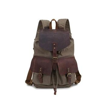 Student Backpack Children 2018 New Design Women Canvas Backpacks School Bags Students Backpack Ladies Women's Travel Bags Leather Package Female AT_49_3