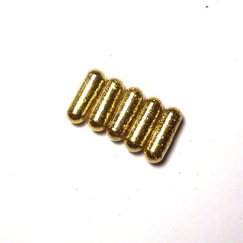 Glitter Pills, Glitter Pill, 10 Gold Pills, Dragon Poop, Unique Gift, Funny Gift, Gag Gift, Raver Gift, Girl Gift, White Elephant Gift, Gold