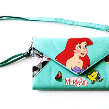Ariel The Little Mermaid Clutch