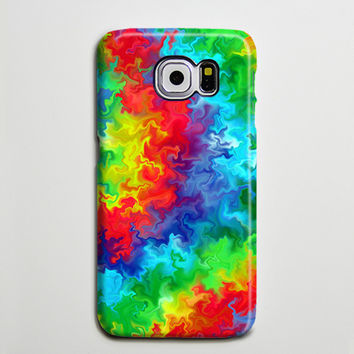 TieDye Watercolor Galaxy s6 Edge Plus Case Galaxy s6 s5 Case Samsung Galaxy Note 5 4 3 Phone Case s6-05