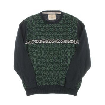 Weatherproof Mens Holiday Fair Isle Pullover Sweater