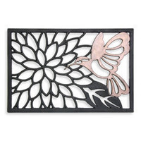 Hummingbird Vulcanized Rubber Doormat - Bed Bath & Beyond