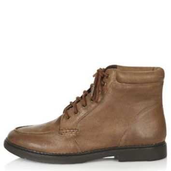 BERTY Lace Up Boots - Brown