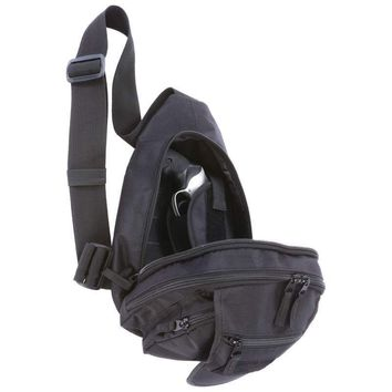 """13"""" Sling Pack with Concealed Handgun Holster"""