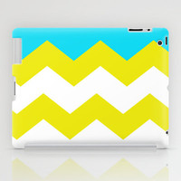 Bright Zig-Zag iPad Case by All Is One