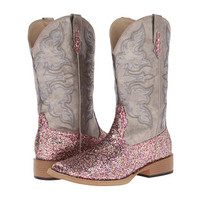 Roper Bling SquareToe Boot Metallic Grey/Multi Glitter - Zappos.com Free Shipping BOTH Ways