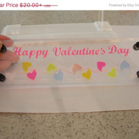 AfterChristmas Sale Valentine's Day decoration room mood lightable acrylic panel only  small acrylic panel only