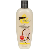 Pure And Basic Reconstructing Coconut Natural Conditioner - 12 Fl Oz
