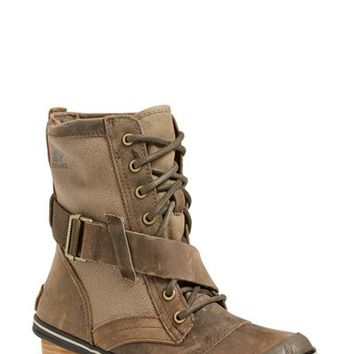 Women's SOREL 'Slimboot' Waterproof Lace-Up Boot,