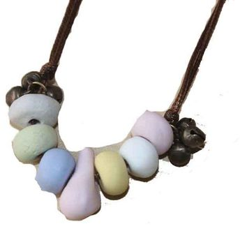 Simple Ceramic Necklace For Women