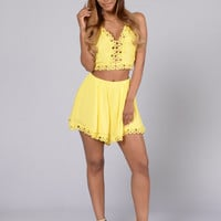 Soft Delight Short - Mustard