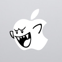 Boo Macbook Decal | The Decal Guru