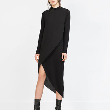 ASYMMETRIC COMBINATION DRESS