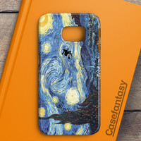 Van Gogh Harry Potter Paintings Starry Night Samsung Galaxy S6 Case | casefantasy