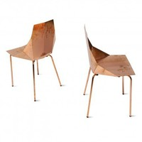 Modern Chair - Copper Real Good Chair by Blu Dot