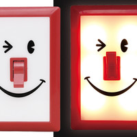 WINKY FACE LED WALL NIGHT LIGHT
