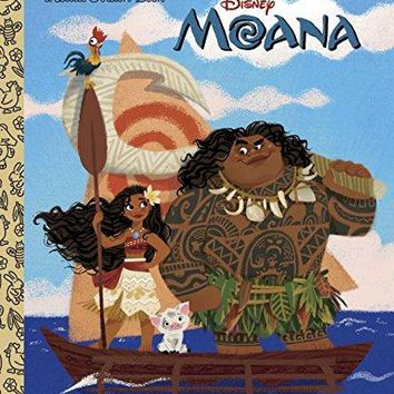 Moana Little Golden Books