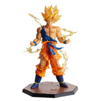 Japanese Anime Dragon Ball Z Super Saiyan Son Goku/Gokou Collection Figure Toys