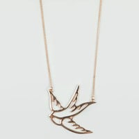 Full Tilt Sparrow Necklace Gold One Size For Women 11628344201