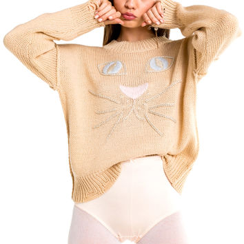 Whiskers Carine Sweater - Wildfox